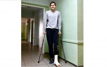 Антон Рочняк получил травму стопы и выбыл из строя на длительное время