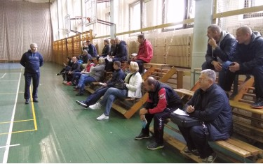 В Харькове проходит семинар и заключительный модуль для тренеров категории «А» и «B»