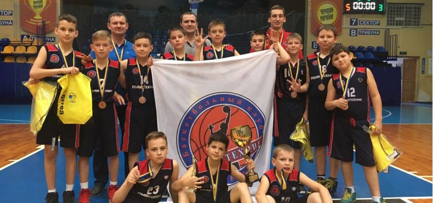 Команда «Политехник» бронзовый призер ВЮБЛ среди юношей 2008 г.р.