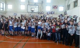 Традиционный новогодний турнир по баскетболу среди детско-юнош
