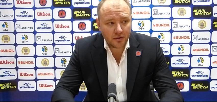 Главный тренер БК «Политехник» Владимир Коваль прокомментировал победу над БК «Днепр»