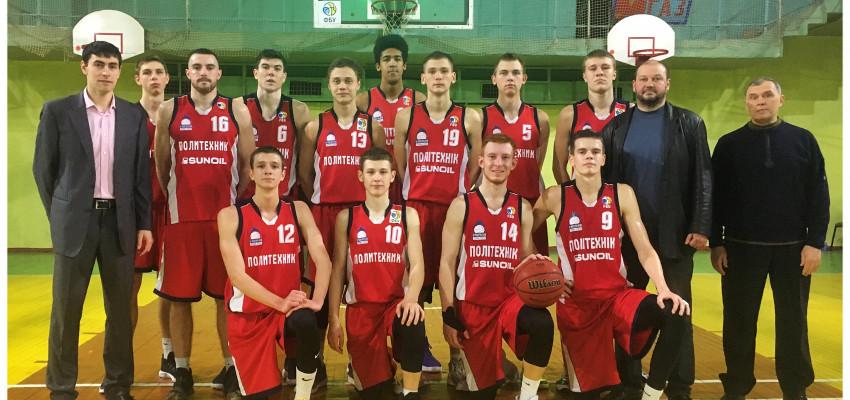 «Политехник-2» в домашнем туре дважды обыгрывает БК «Дружковка».
