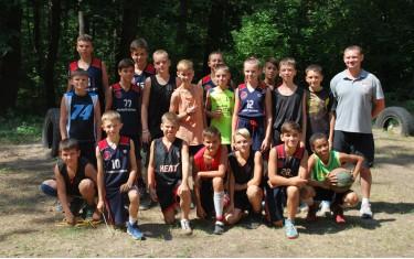 """Баскетболисты """"Политехника"""" провели тренировочный сбор в спортивно-оздоровительном центре """"НТУ ХПИ""""."""