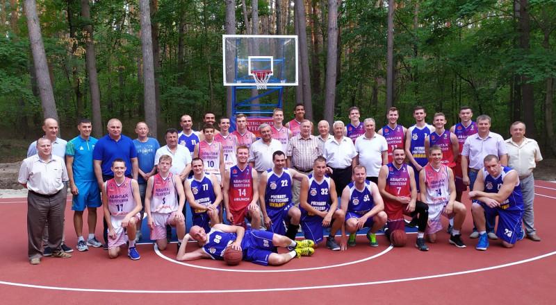 БК «Политехник» и БК «Поляков-Политехник» провели товарищескую встречу.