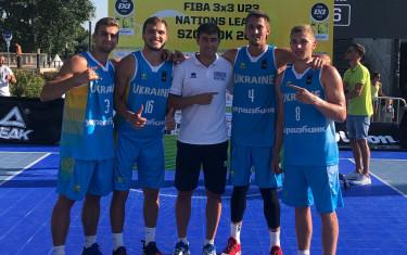 Сборная Украины U23 по баскетболу 3х3 под руководством тренера Тимура Арабаджи стала победителем 4 тура Лиги Наций ФИБА в Венгрии.