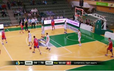 Видео игры МБК «Николаев» - БК «Политехник»