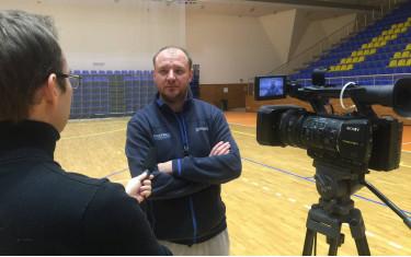 «Политехник» готовится к «Финалу четырех» Кубка Украины. Интервью главного тренера БК «Политехник» Владимира Коваля.