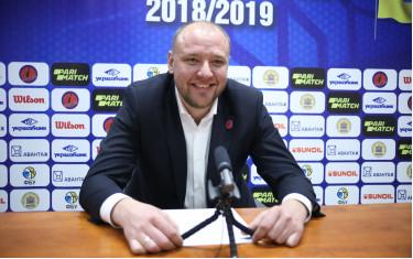 Главный тренер БК «Политехник» Владимир Коваль поздравил болельщиков команды с победой над МБК «Николаев».
