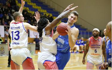 В последней домашней игре регулярного чемпионата «Политехник» выиграл у МБК «Николаев»