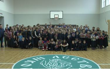 БК «Политехник» провел мастер-класс в школе «Лествица».