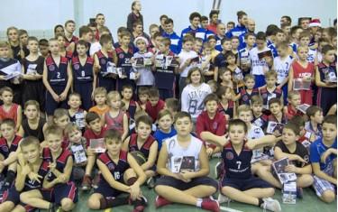 В Харькове прошел баскетбольный праздник для детей