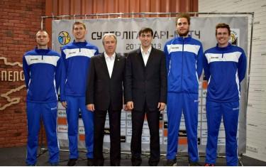 Начало Супербаскетбола в Харькове