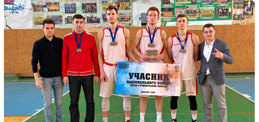 Две команды БК «Политехник» вышли в финальный тур чемпионата Украины по баскетболу 3х3 среди студентов.
