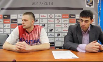 Роман Козлов після гри Політехнік - БІПА